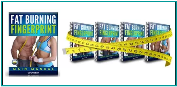 Fat Burning Fingerprint Book