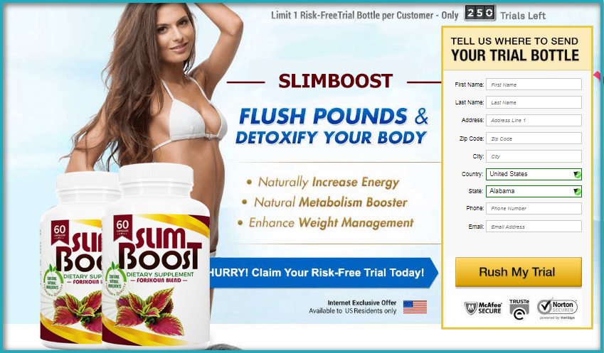 Slimboost Forskolin review